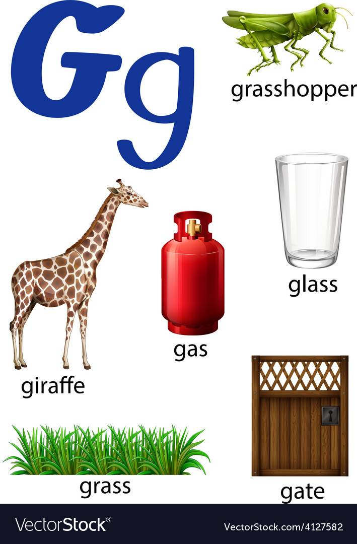 Things that start with the letter G