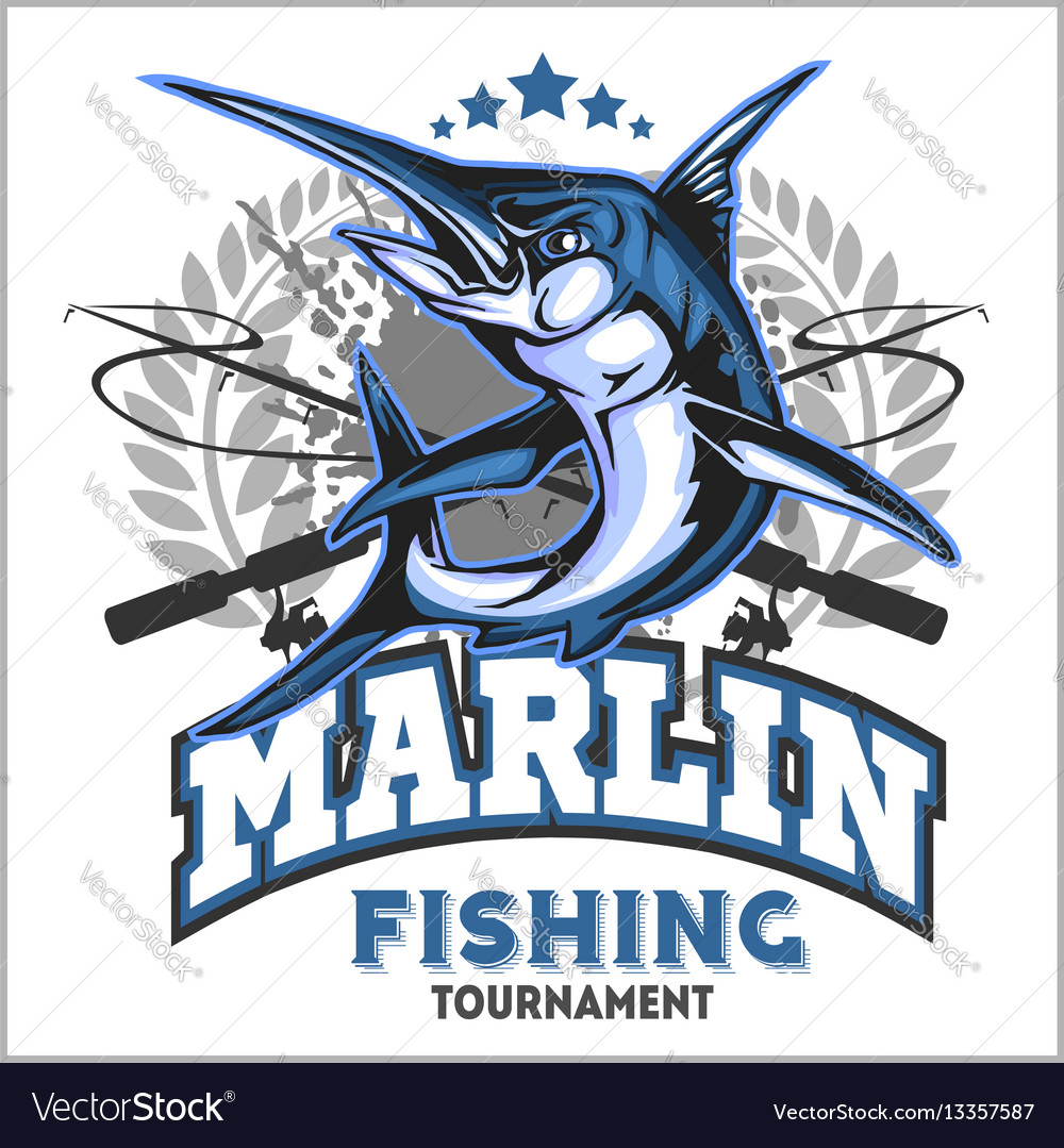 marlin fishing vector wwwpixsharkcom images