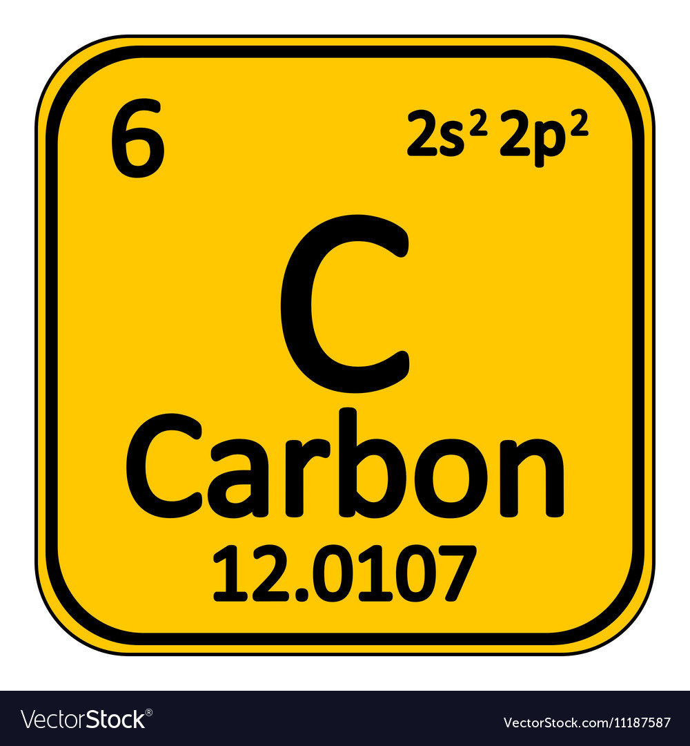 Periodic table element carbon icon royalty free vector image periodic table element carbon icon vector image urtaz Image collections