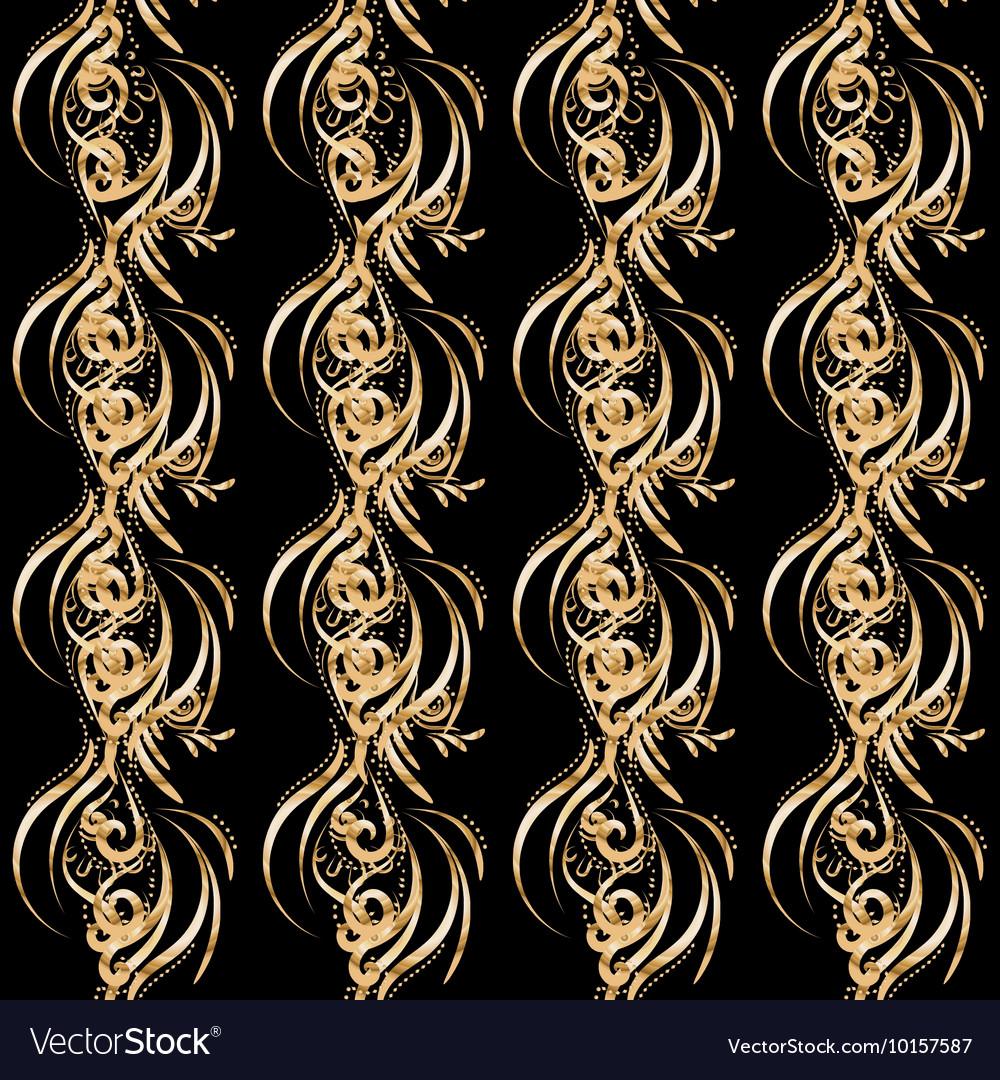 Seamless pattern of gold