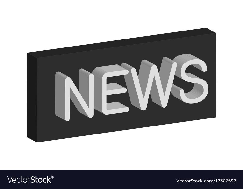 3D banner news