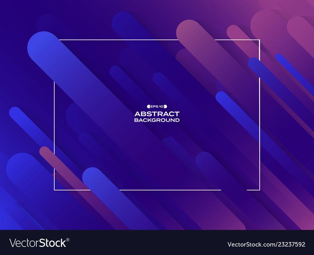 Abstract fluid purple violet cyan geometric line