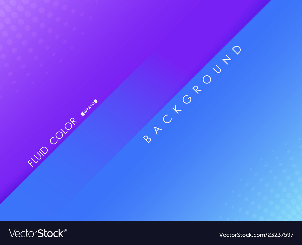 Abstract fluid color background of violet and blue