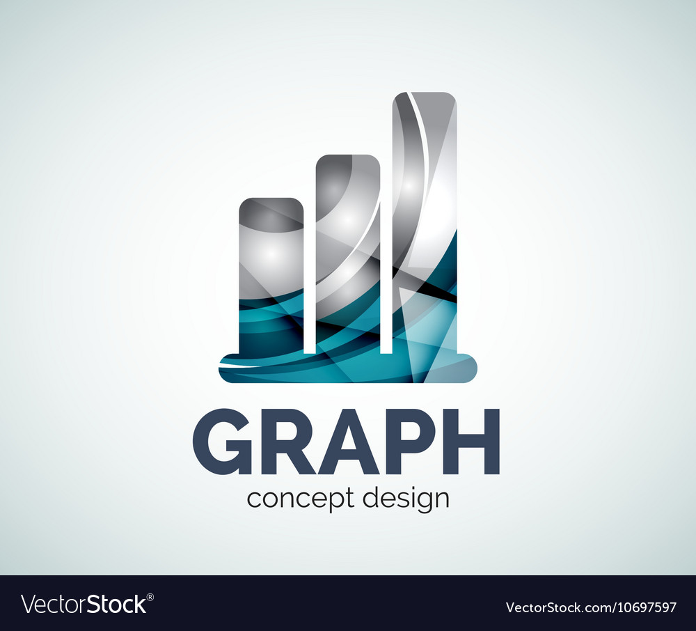 Graph logo template