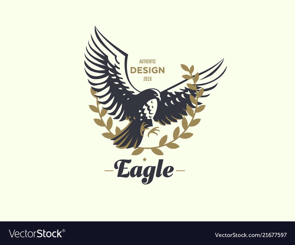 The flying eagle emblem