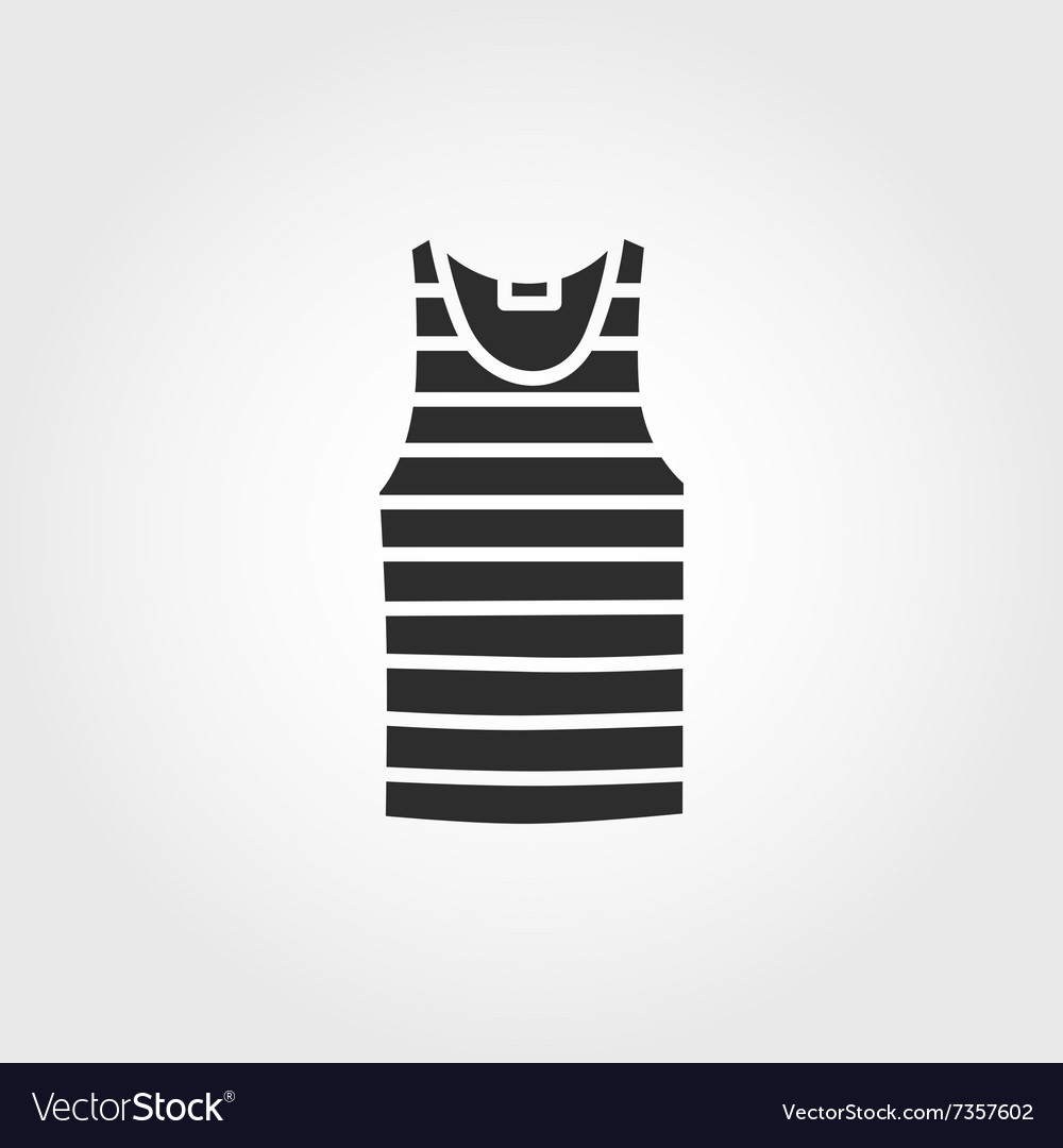 Blank Singlet Template Front And Back Vector Image