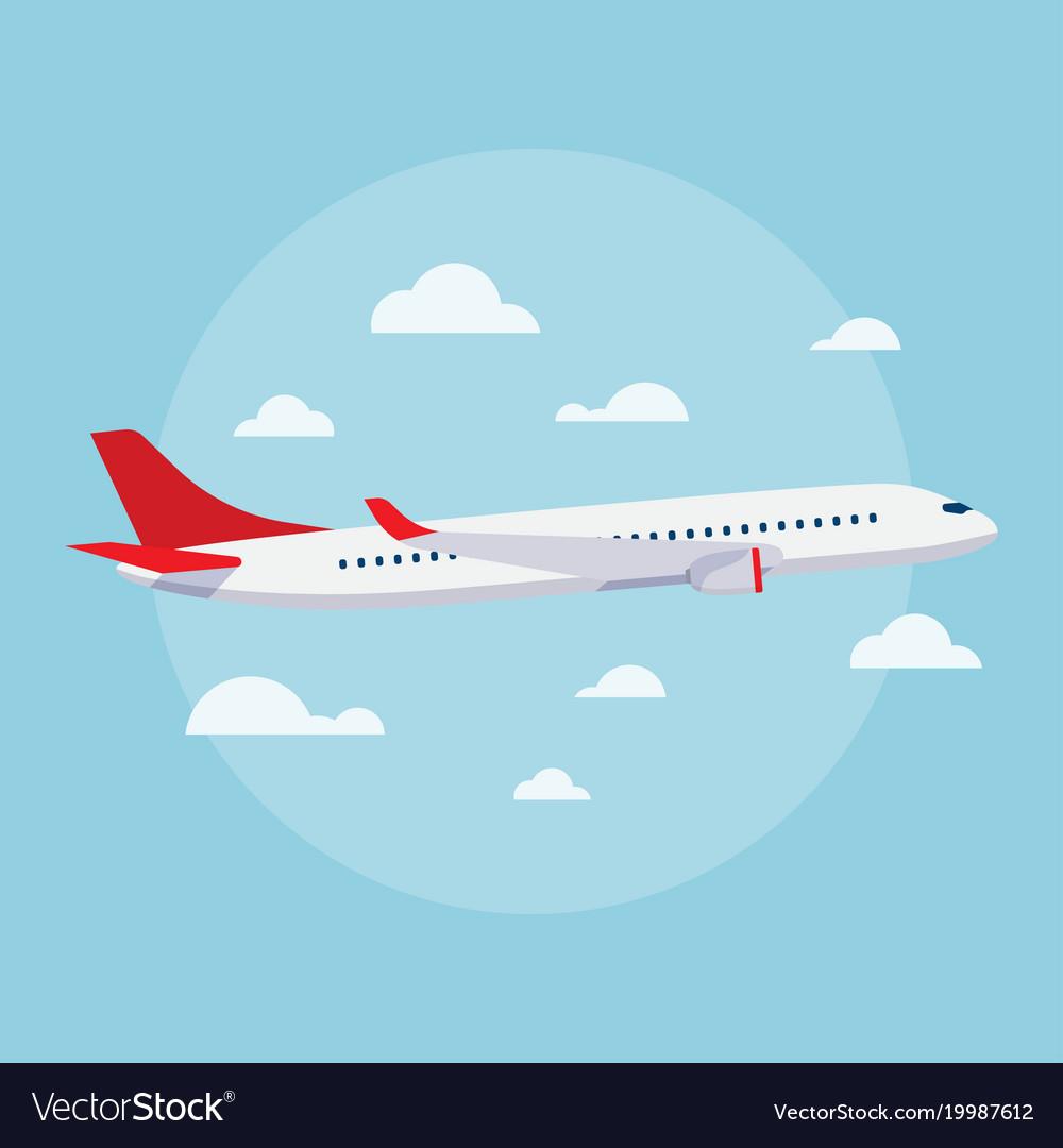 Aircraft flat