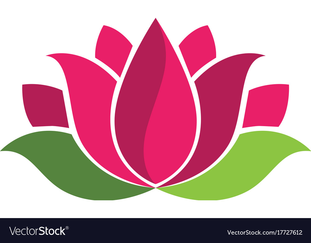 Beauty flowers logo