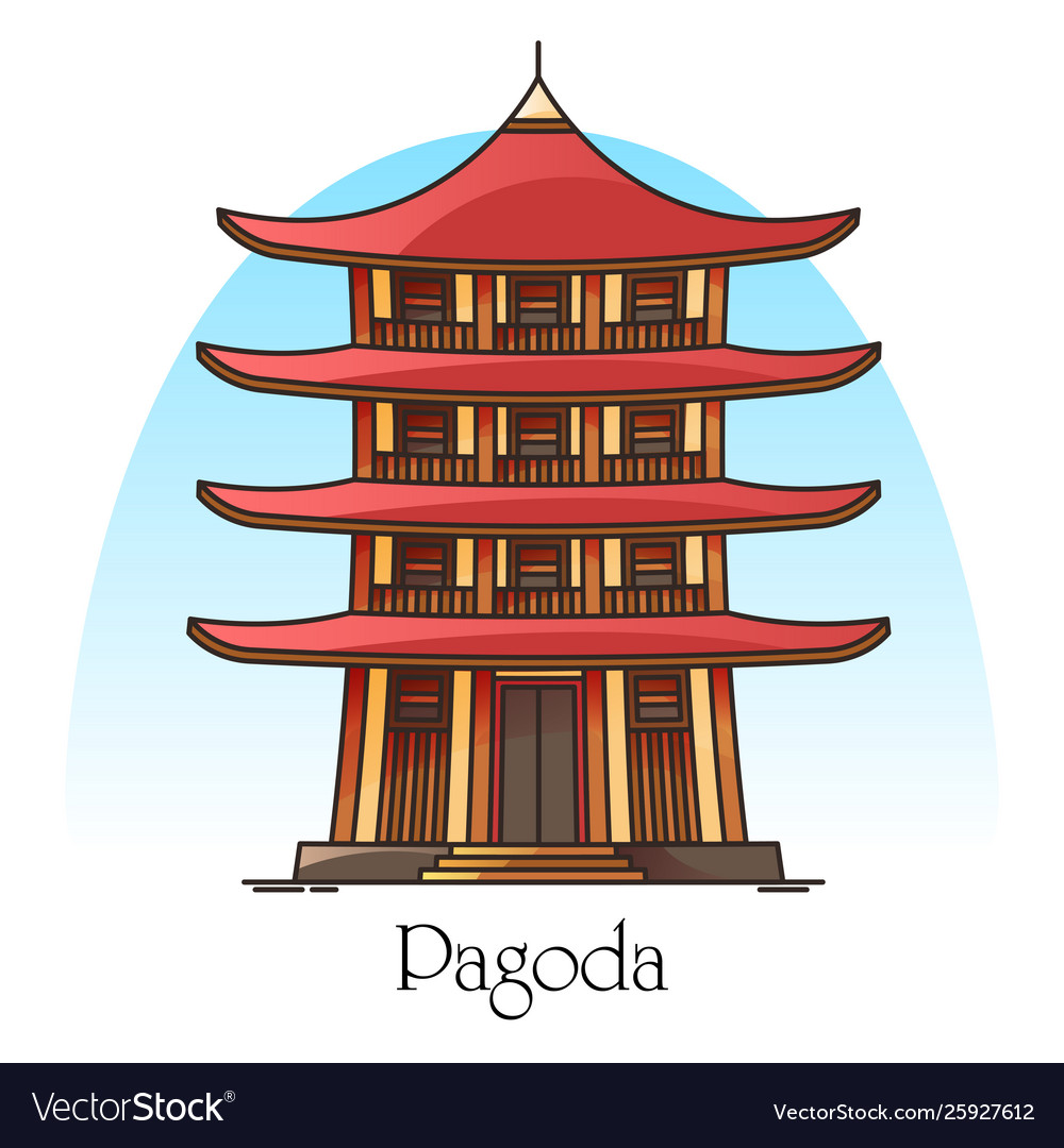 Japanese or chinese pagodachina or japan building
