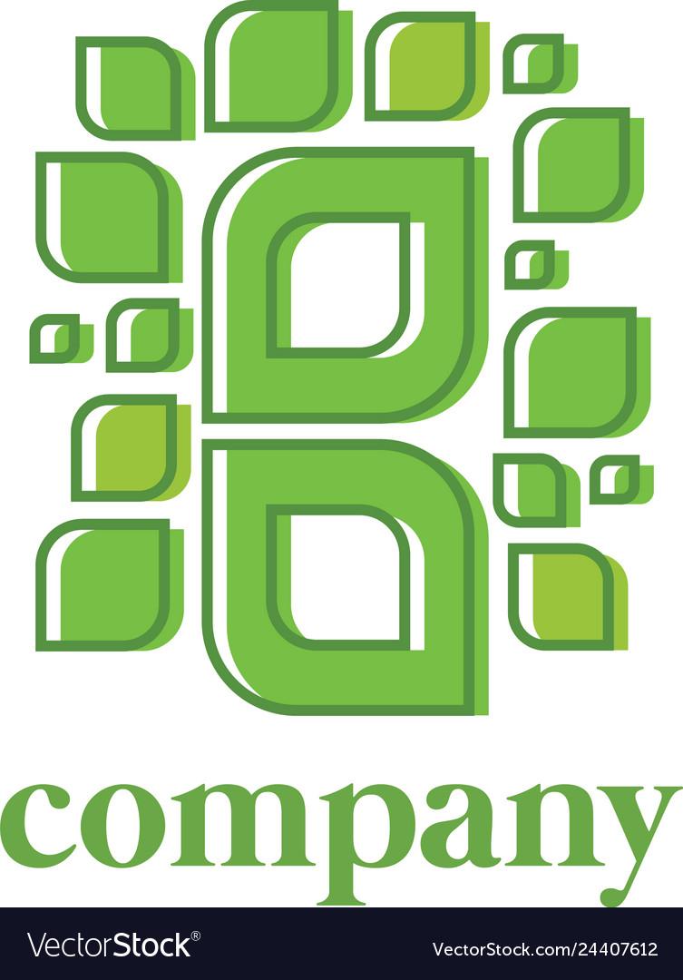 Nature logo design eps 10