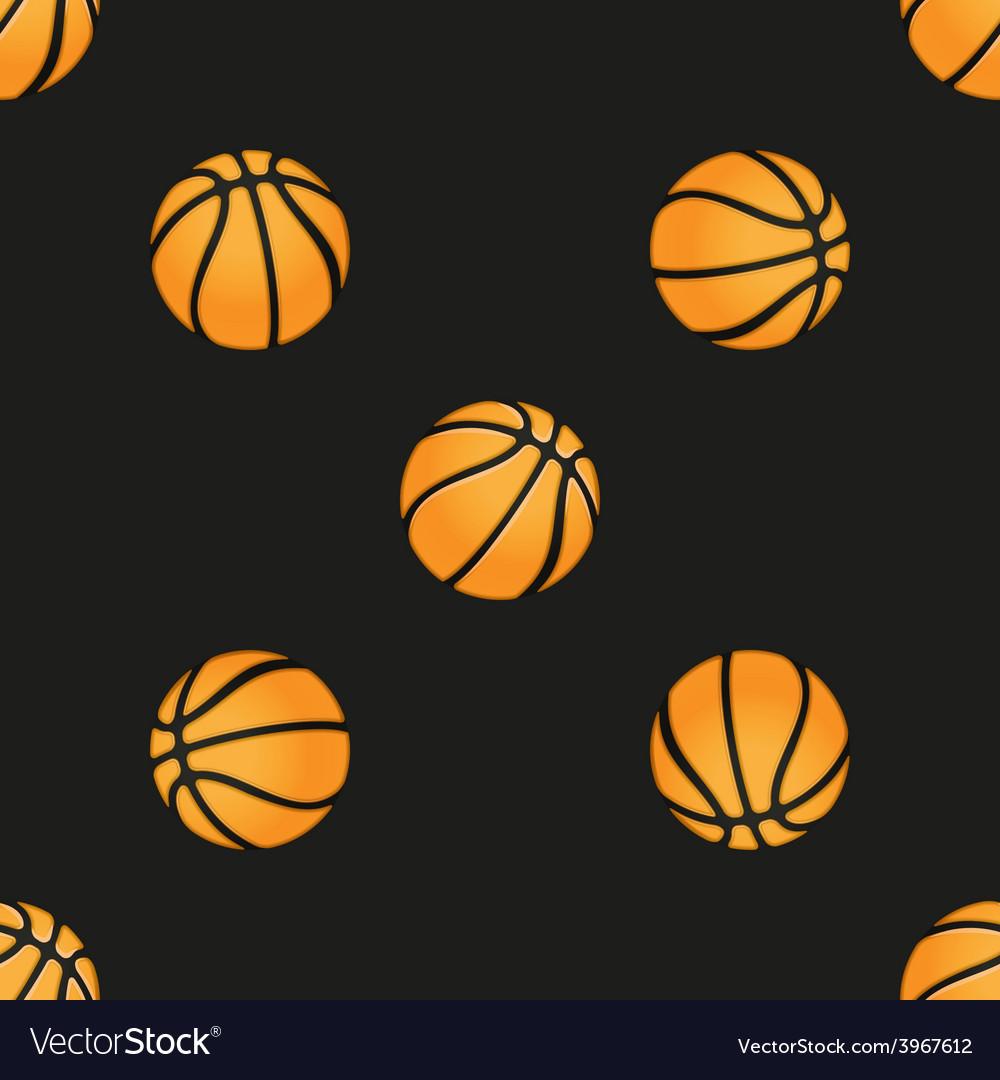 Universal basketball seamless patterns
