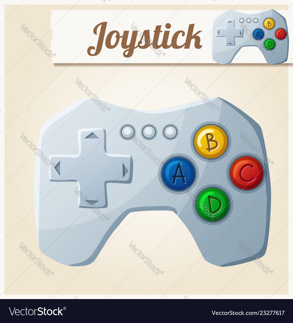 Joystick cartoon