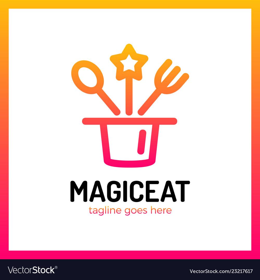 Magic eat logo