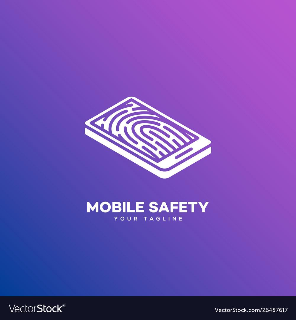 Mobile safety logo