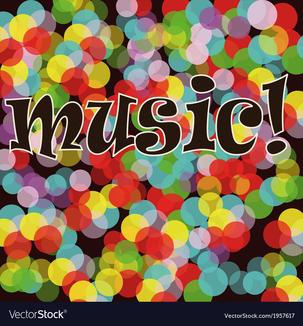 Musical bright background A