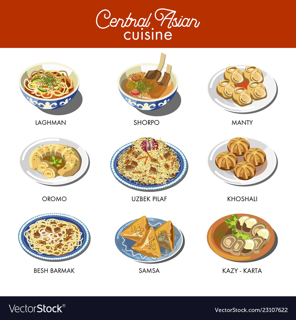 New Asian Cuisine Dishes