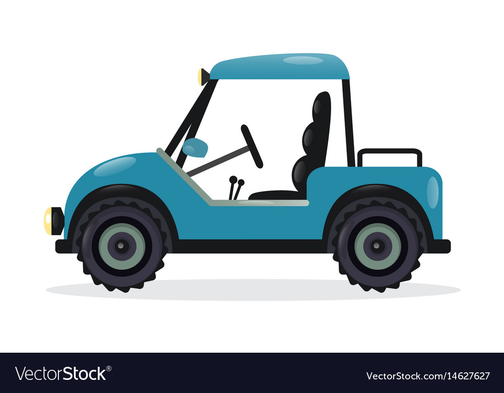 Golf cart design element