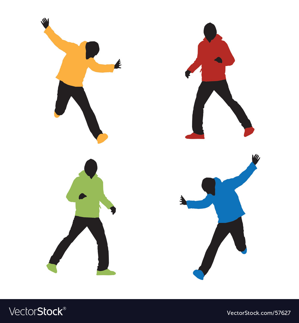 Sports fashion vector image