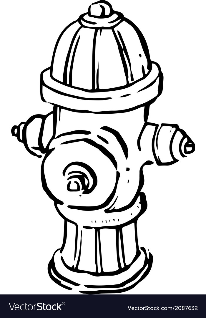 Fire Hydrant Line Drawing