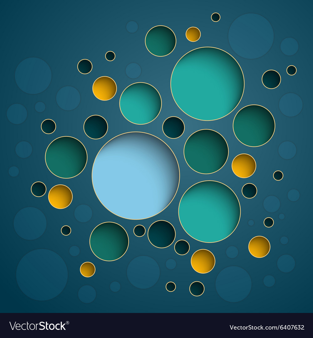 Infographics colorful circles scheme design on