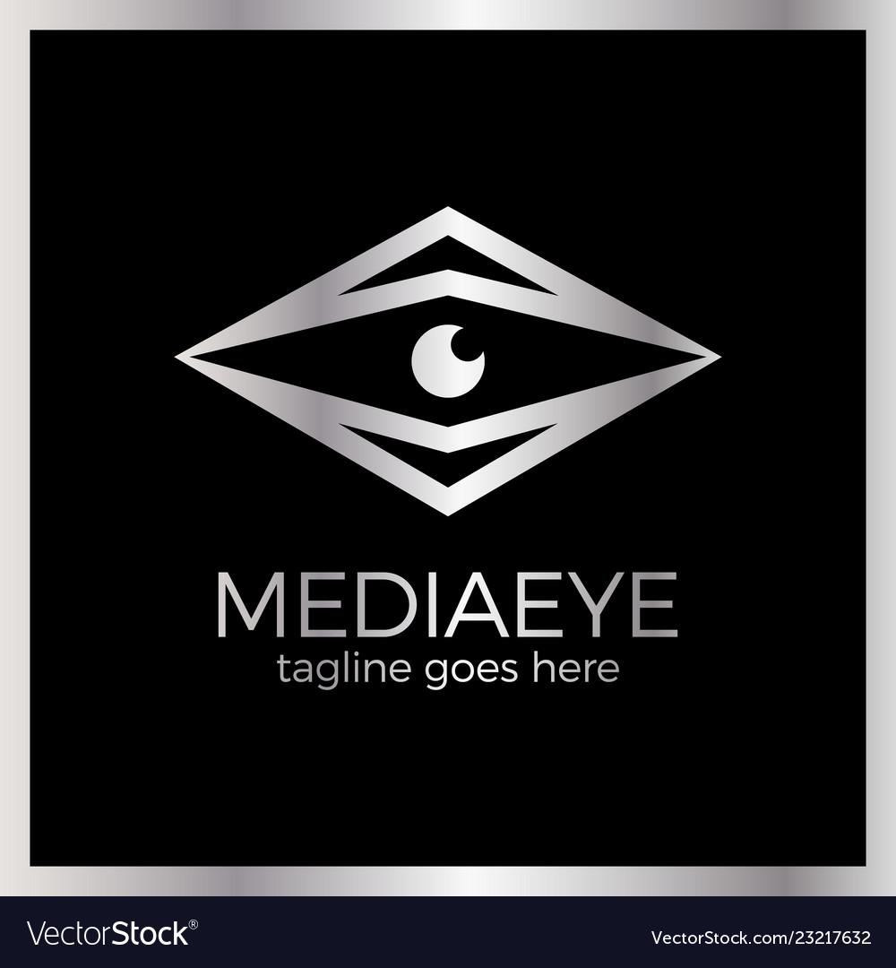 Media eye logo