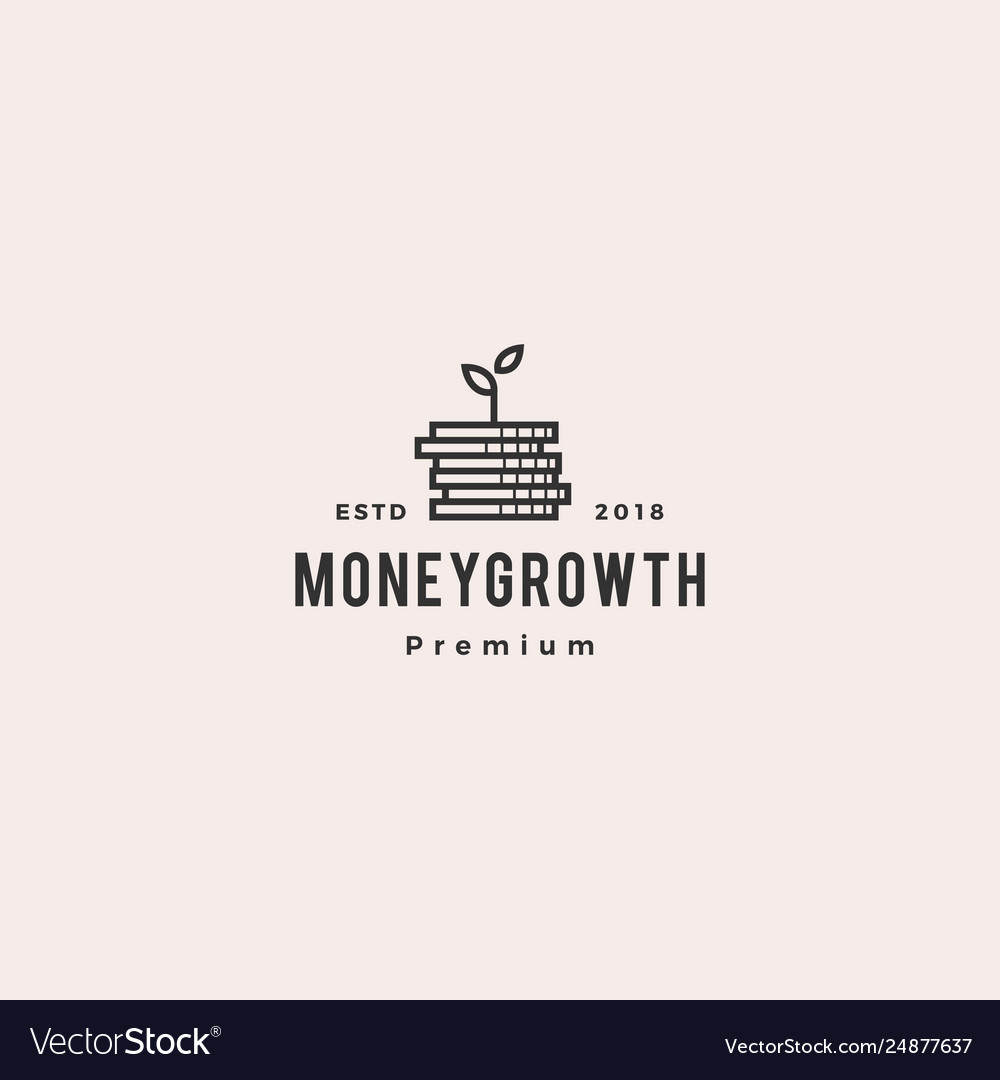 Coin leaf sprout money grow growth investment