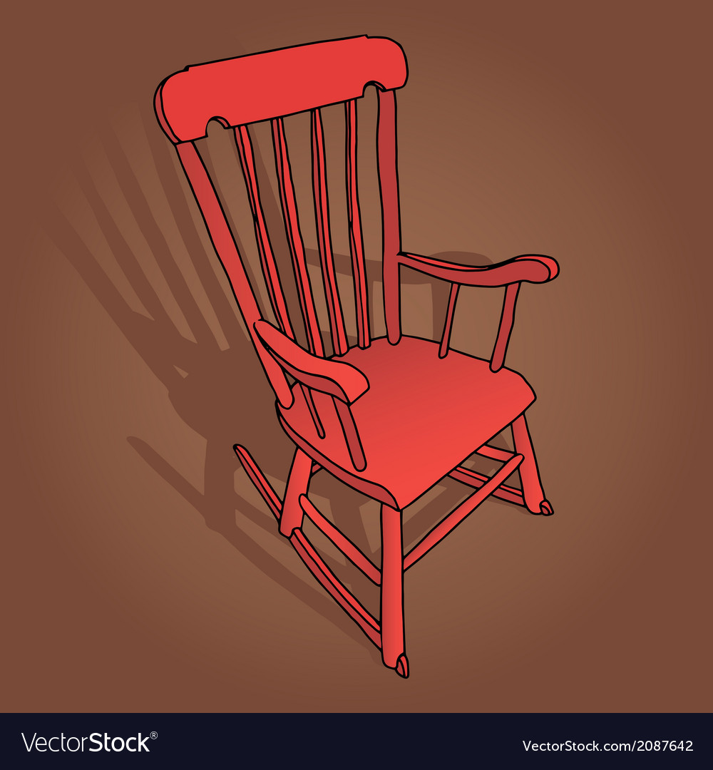 Swell Little Red Rocking Chair Ncnpc Chair Design For Home Ncnpcorg