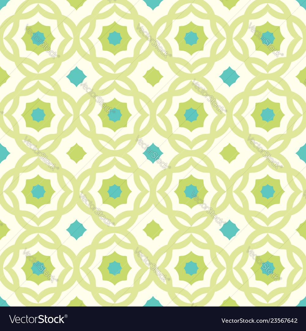 Vintage seamless pattern in arabic style