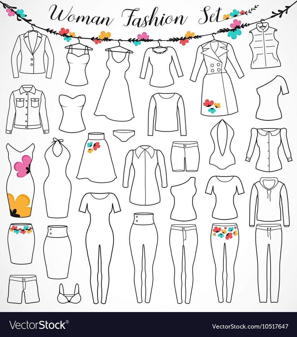 Woman Fashion Set