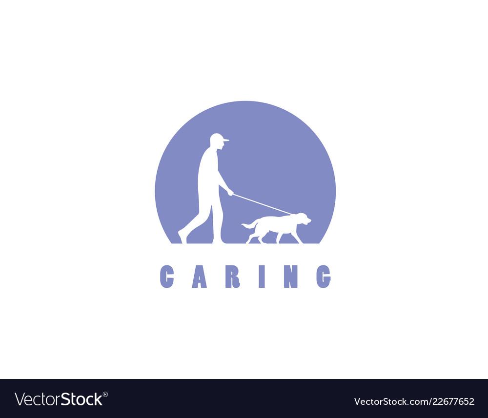 Caring pets logo design