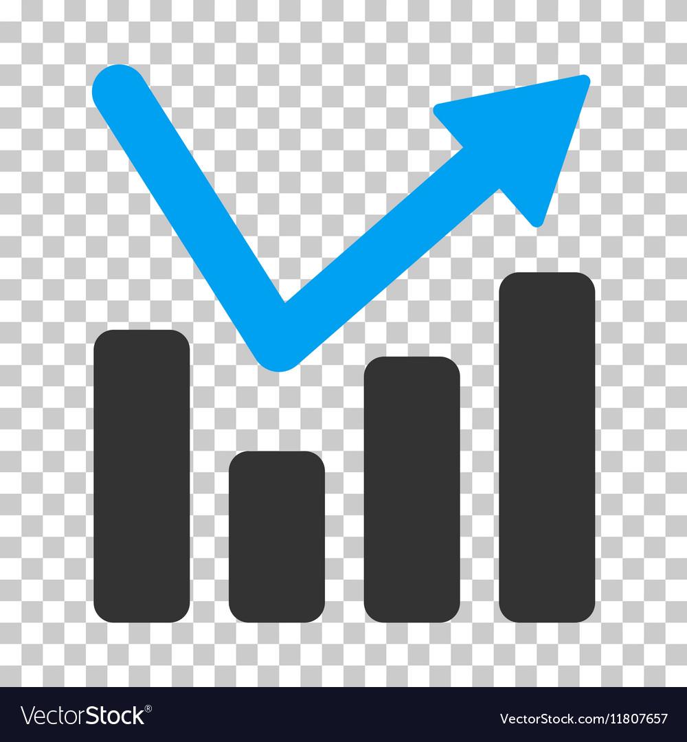 Bar Chart Trend Icon