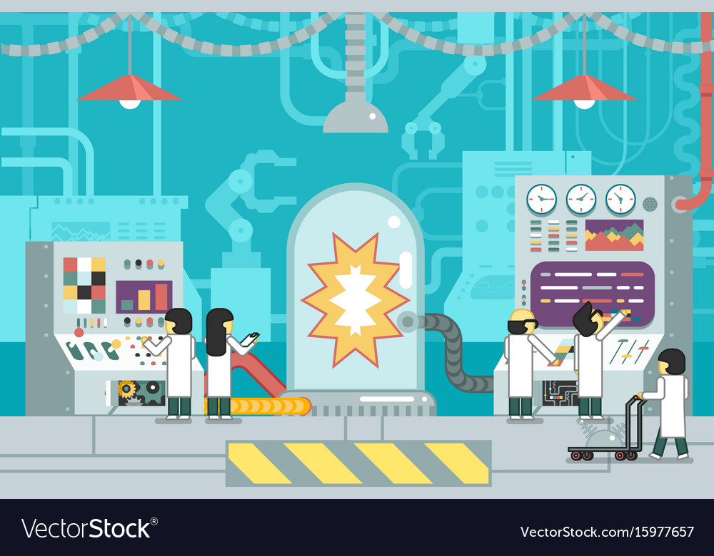 Scientific laboratory experiment experience vector image