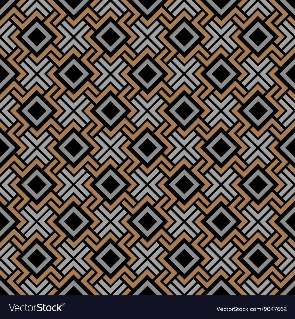 Seamless geometric pattern in Celtic style