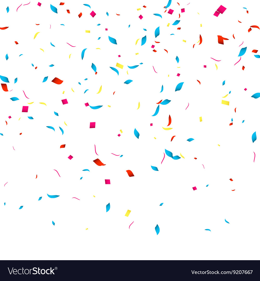 confetti background for holidays party royalty free vector rh vectorstock com party factory uk party factory zoetermeer