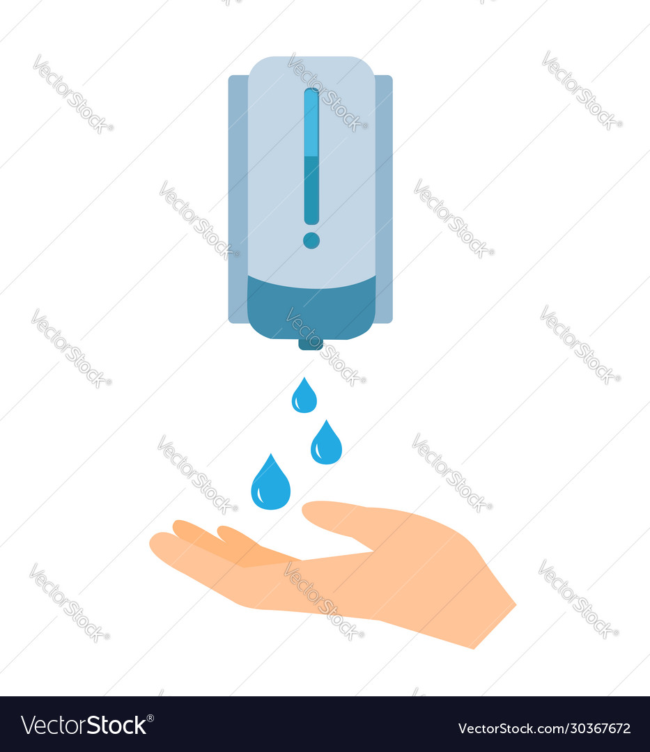 Washing hand with soap icon cleaning icon
