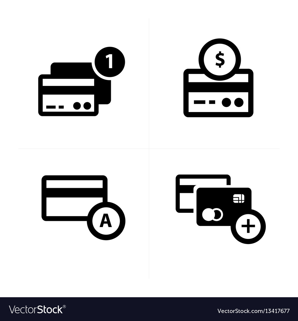 Credit card with bubble icon
