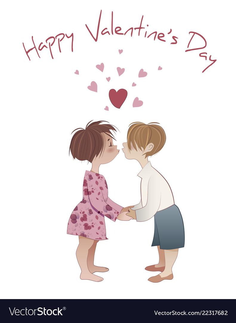 Girl and boy kissing emoji