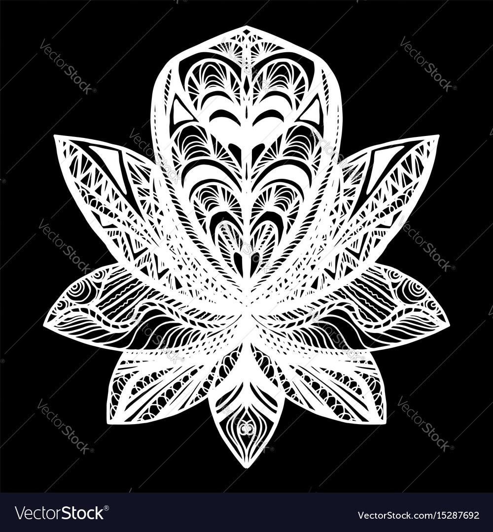 Flower lotus tattoo