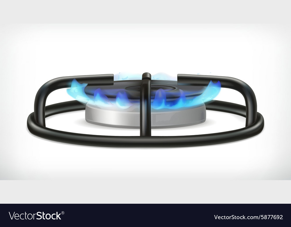 Kitchen gas stove object
