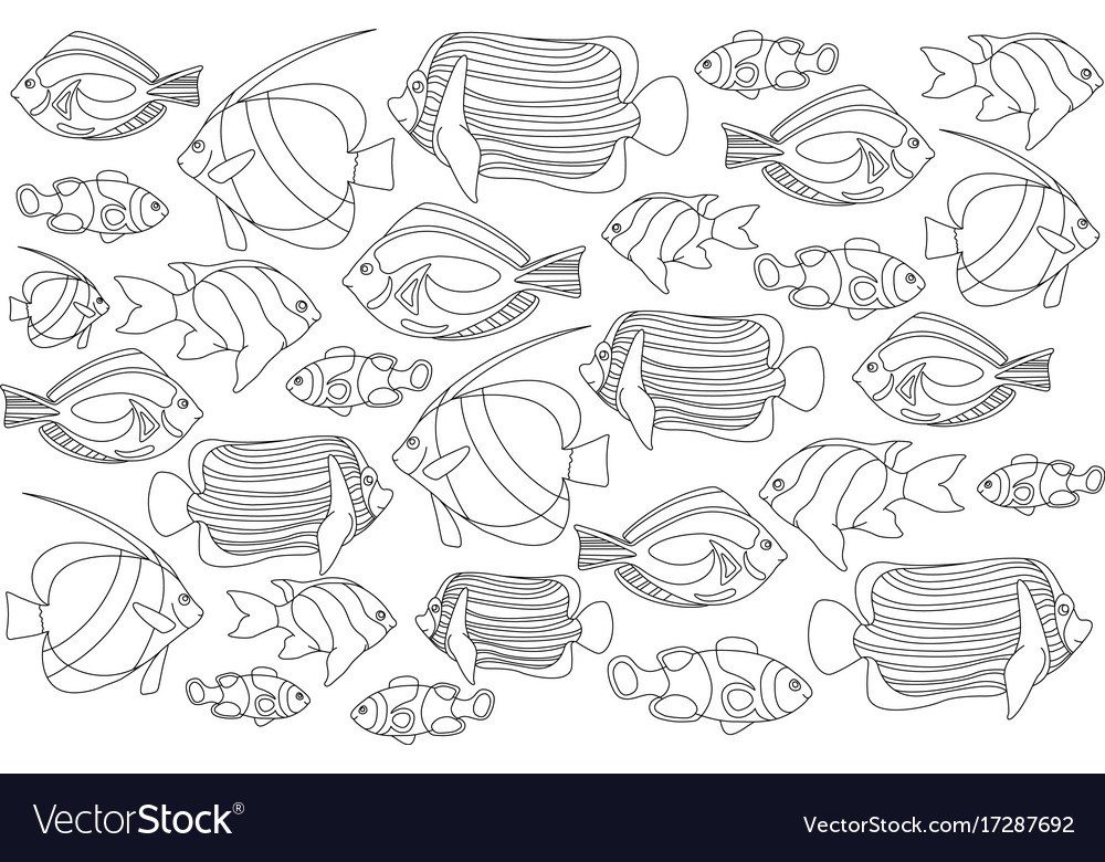 Free Coloring Pages Of Coral Fish - Auto Electrical Wiring Diagram | 780x1000
