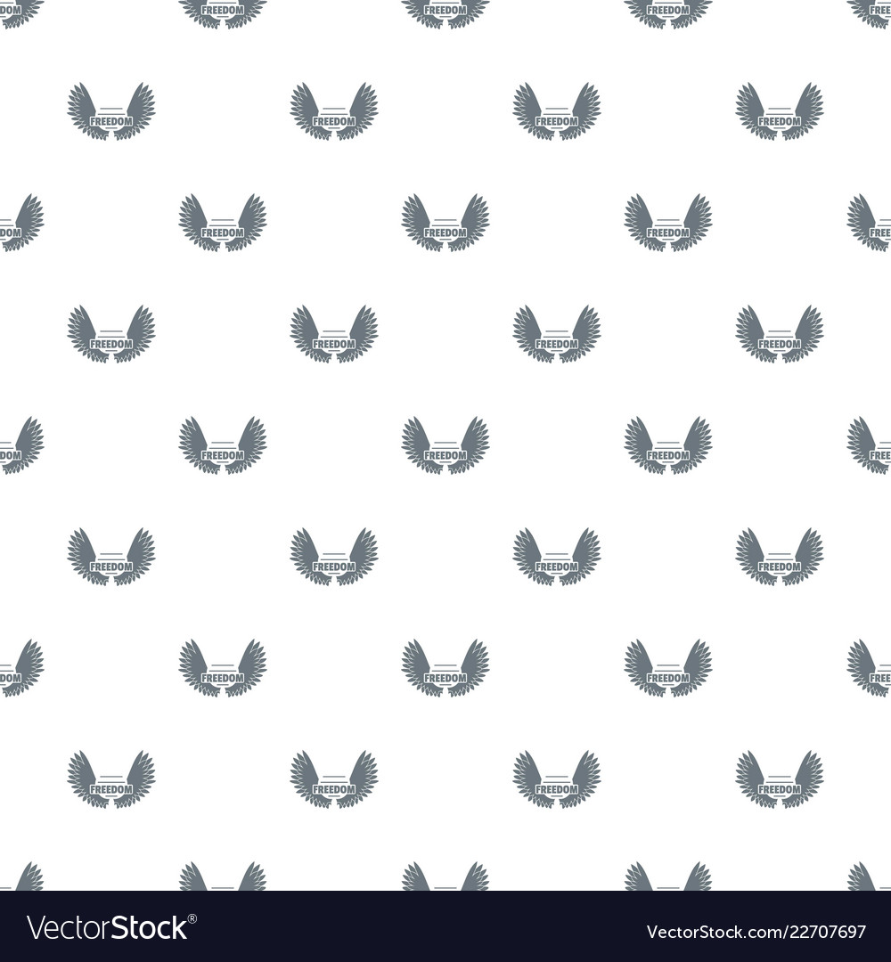 angel wing pattern seamless royalty free vector image