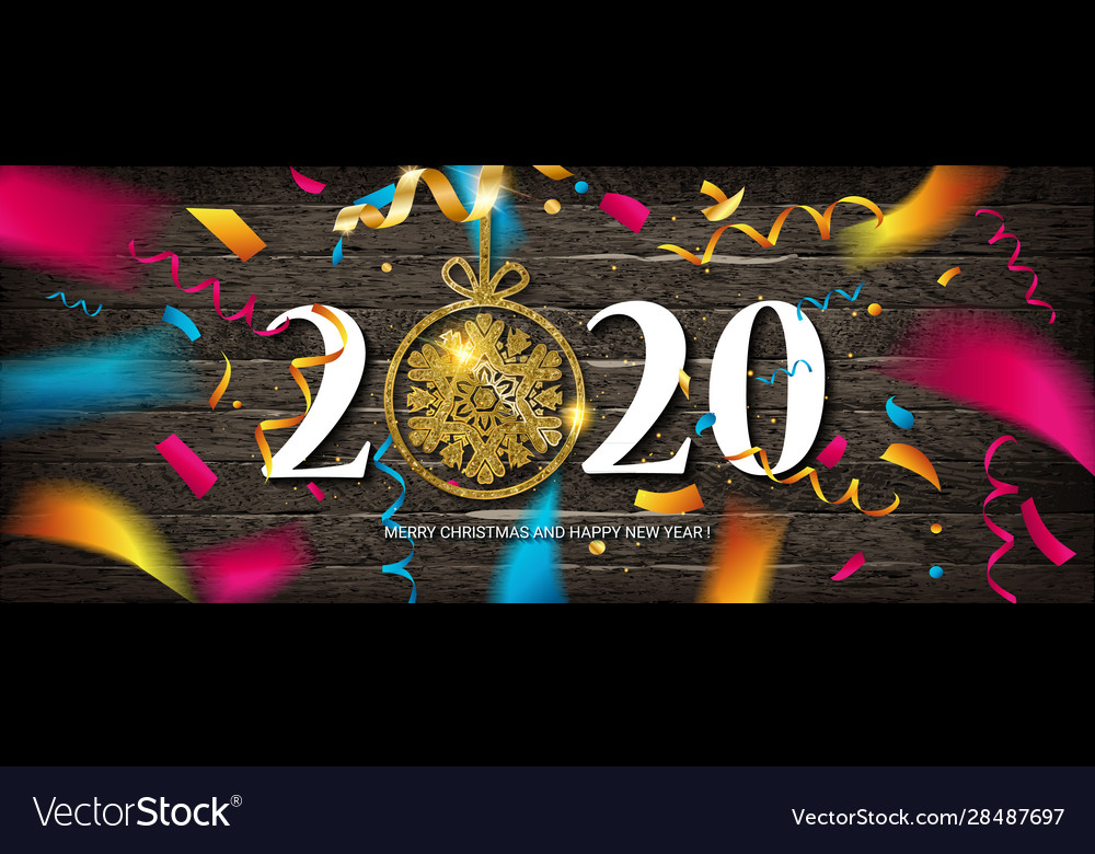 Happy New Year 2021 Design Royalty Free Vector Image