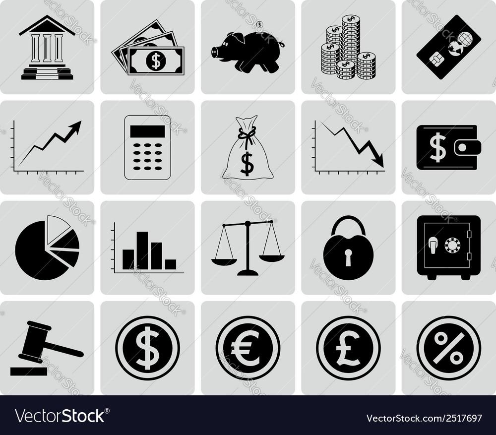 Set of Finance Icons