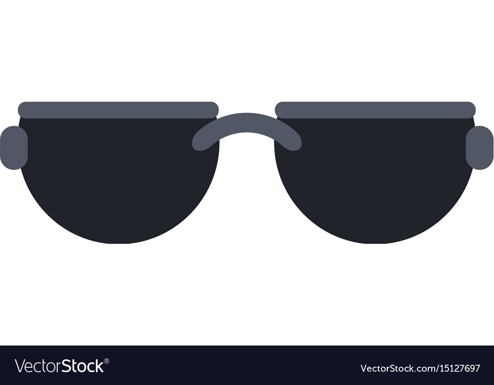 Sunglasses frame icon image vector image