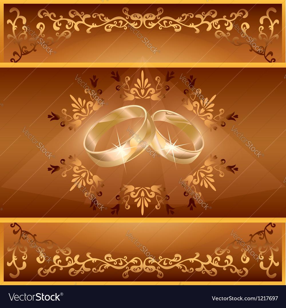 Открытка с золотой свадьбой шаблон, диане