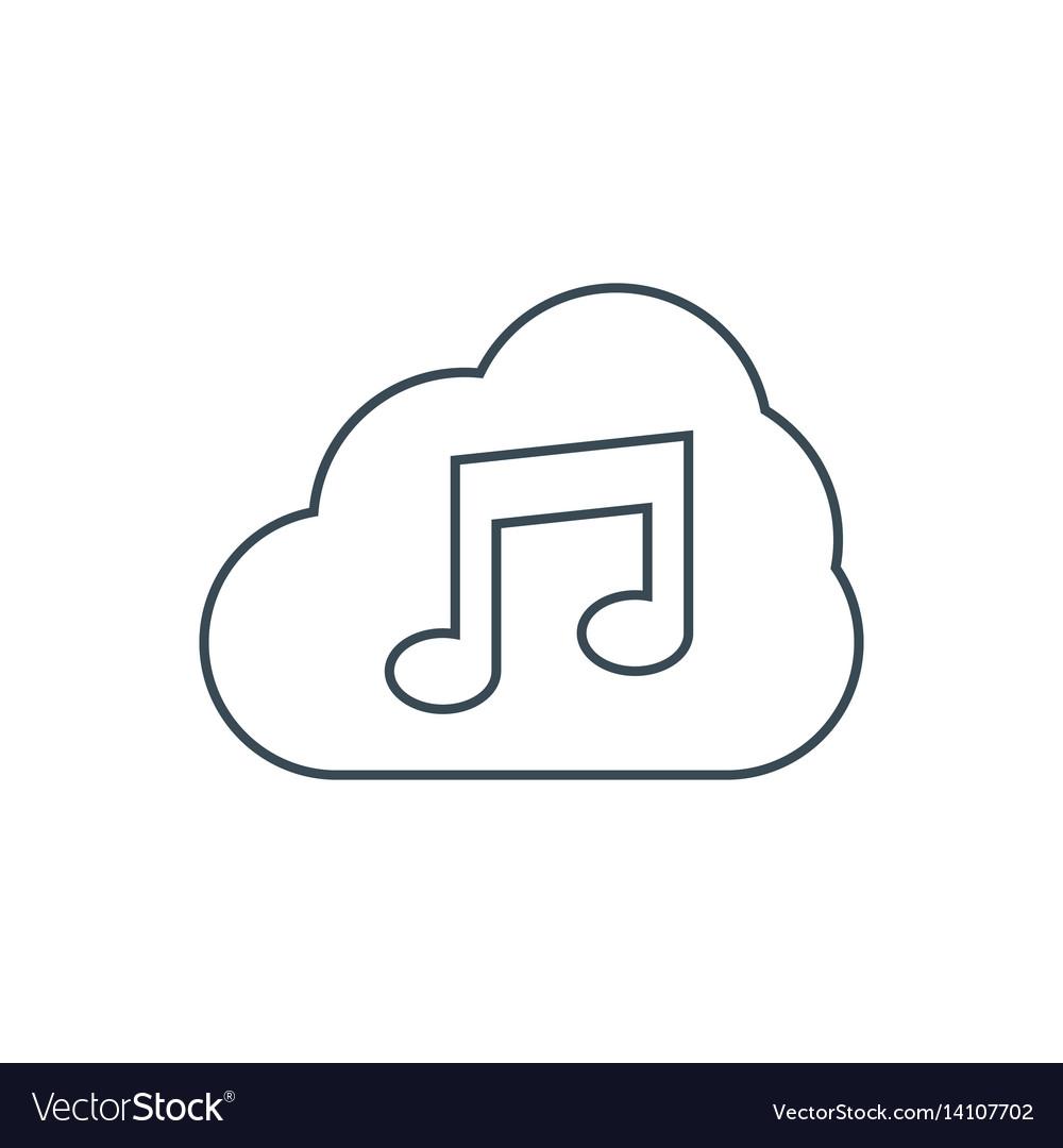 Music storage icon