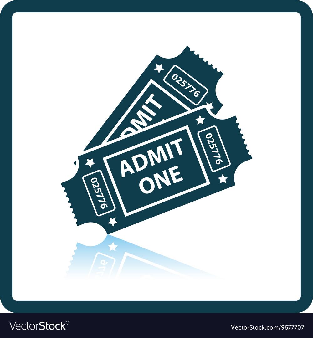 Cinema tickets icon