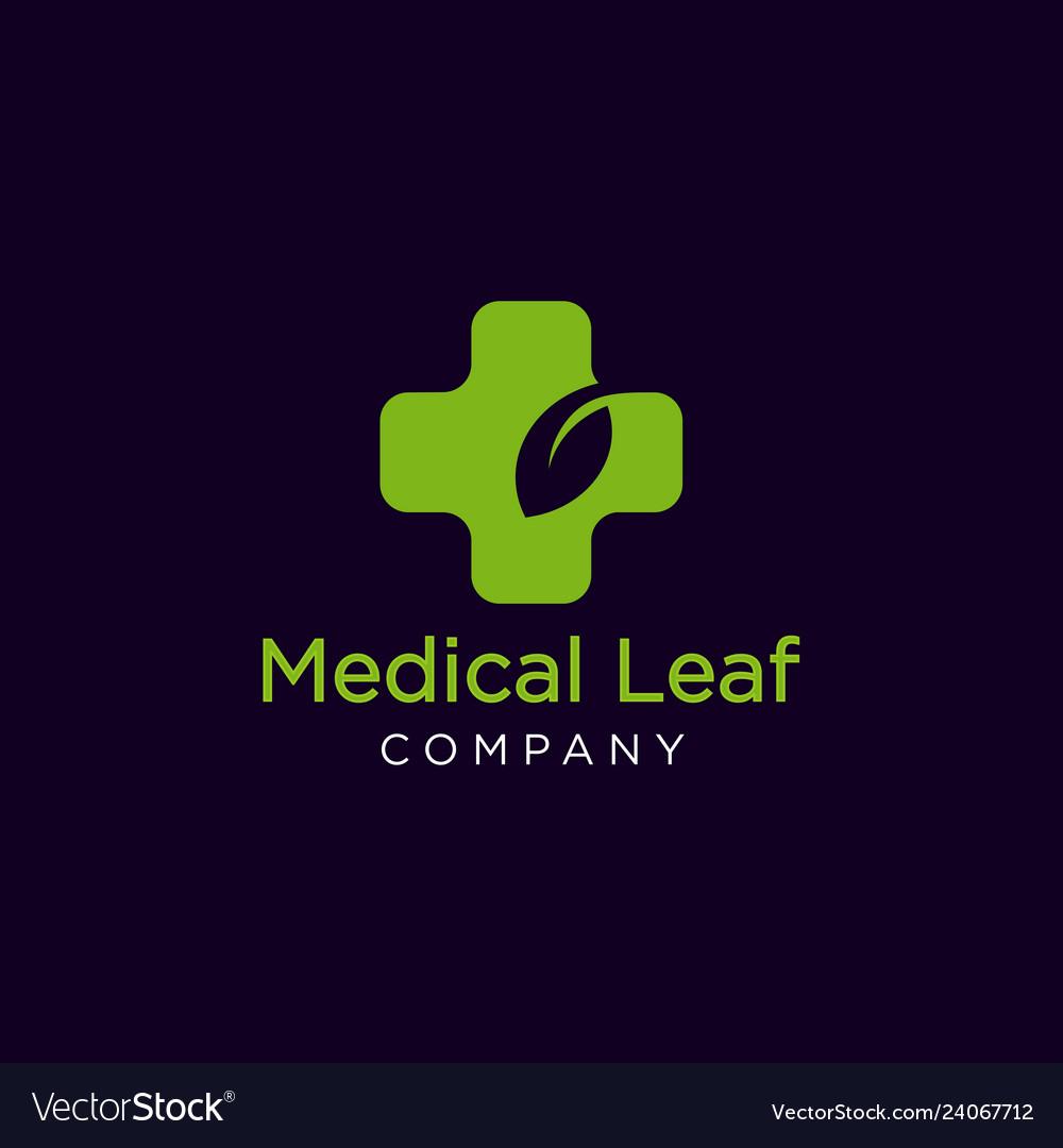Medical leaf logo