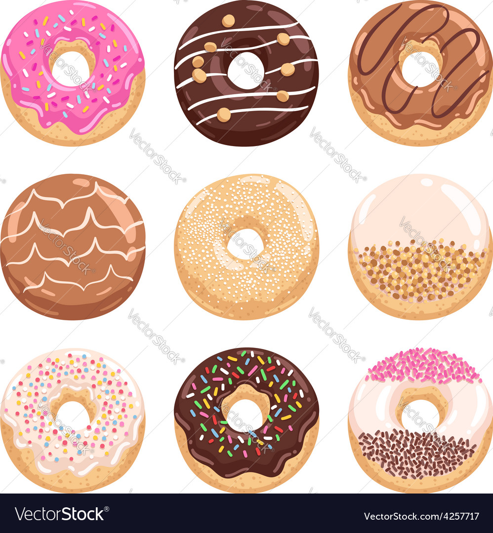 Donuts collection part 1