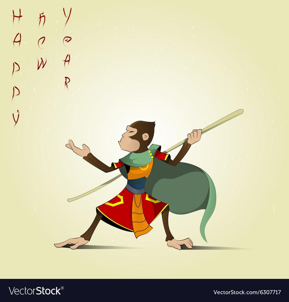 Fun cartoon Hanuman